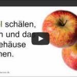 Apfel-Rettich-Salat zum Stoffwechsel anregen