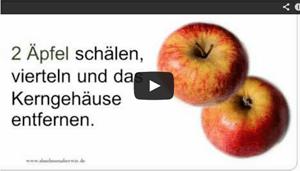 Apfel-Rettich-Salat zum Stoffwechsel anregen und Fett verbrennen
