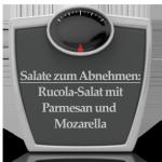 Salate zum Abnehmen: Rucola-Parmesan-Salat