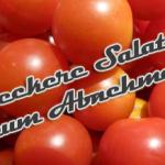 Salate zum Abnehmen und Genießen