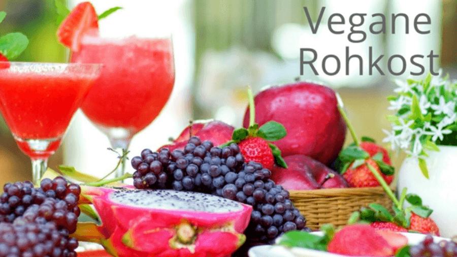 Mit veganer Rohkost ( Roh vegan) abnehmen